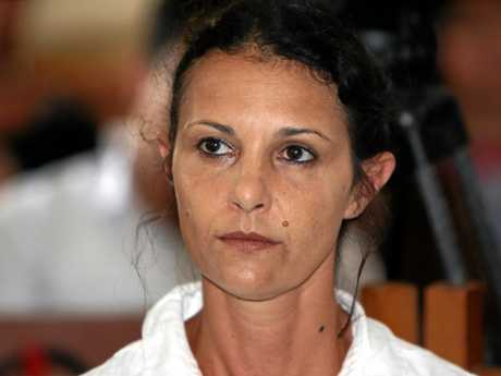 Australian woman Sara Connor during her trial at Denpasar court in Denpasar.