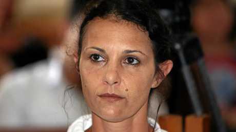 Australian woman Sara Connor during her trial at Denpasar court in Denpasar.