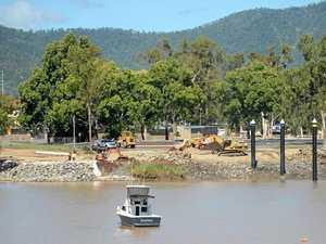 Murky start to North Rocky boat ramp construction