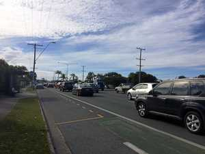 Paramedics rush to Nicklin Way after two-vehicle crash
