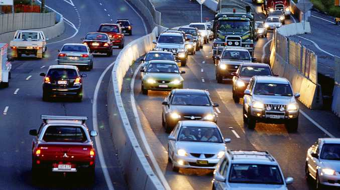 Easter traffic congestion on the Ipswich Motorway. Photo: Sarah Keayes / Queensland Times