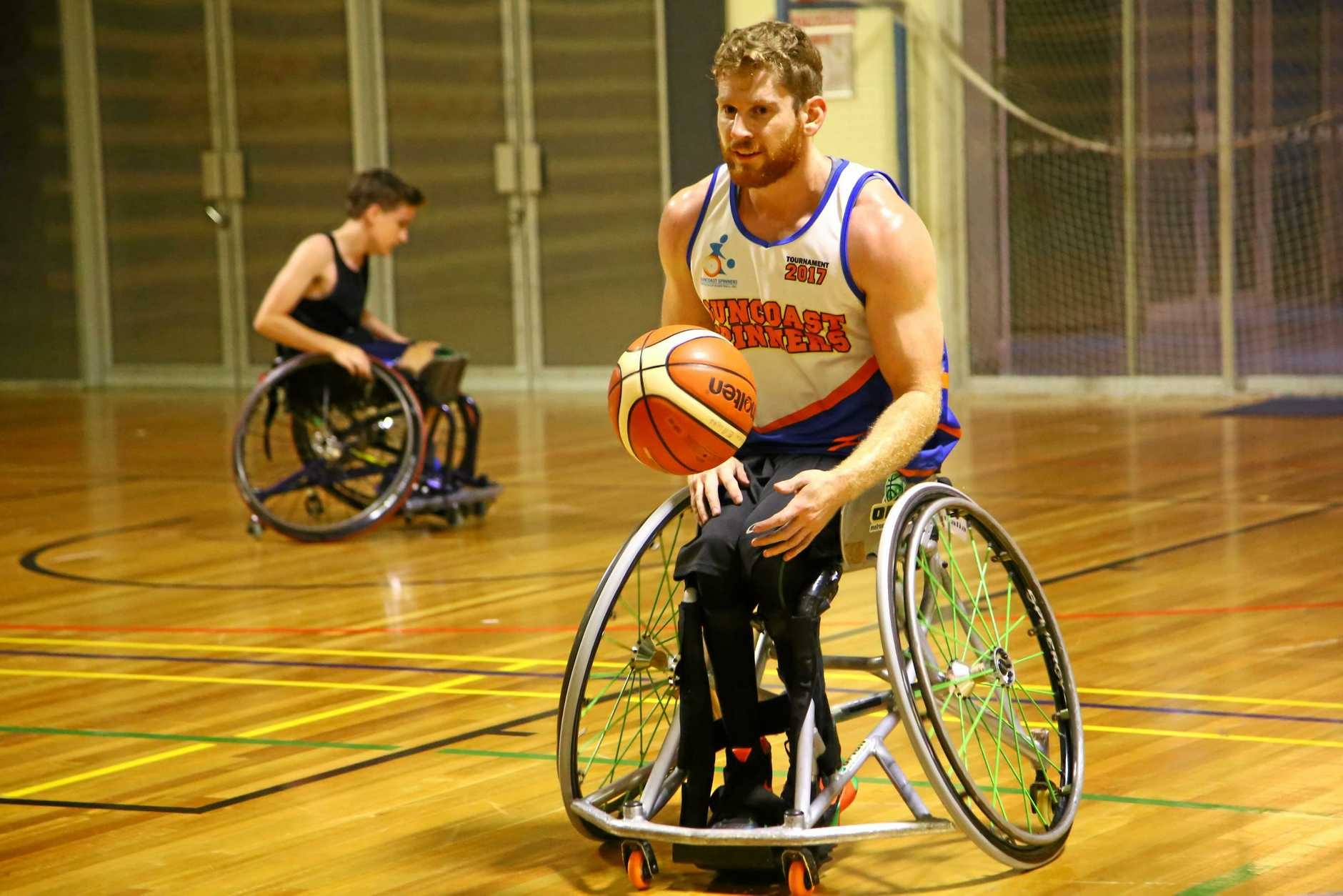 AUSTRALIAN REP: Steven Elliott represented Australia in wheelchair basketball and is considered among his peers as one of the best in his sport.