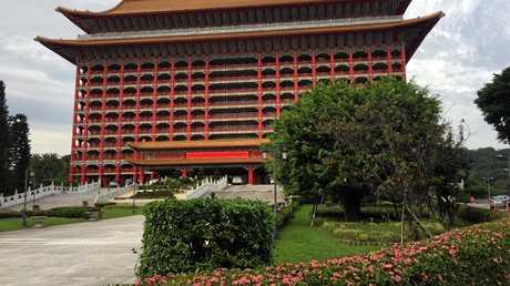 Taipei's mighty Grand Hotel.