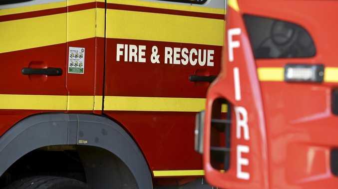 BLAZE: Multiple crews are fighting a fire near Storm King Dam.