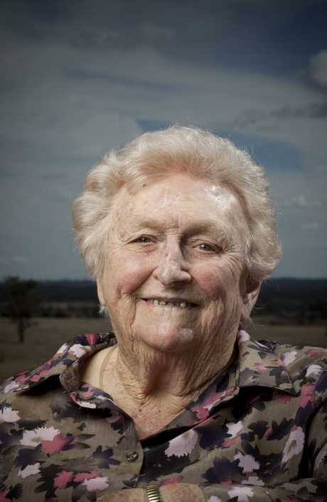 Lady Flo Bjelke-Petersen was a mother figure to the state. Picture: Russell Shakespeare