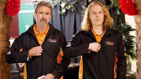 Upper Middle Bogan — Glenn Robbins and Rhys Mitchell.
