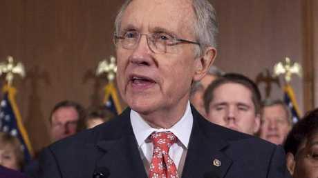 Former senator Harry Reid. Pic: AP