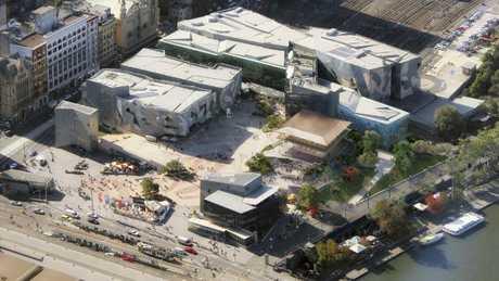 Apple's planned flagship Melbourne store features new parkland.
