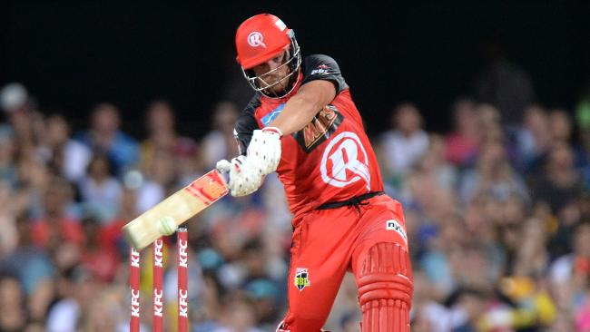 Renegades skipper Aaron Finch expects big things from his squad.