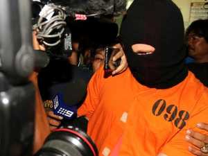 Why the accused Bali drug smuggler was paraded in balaclava