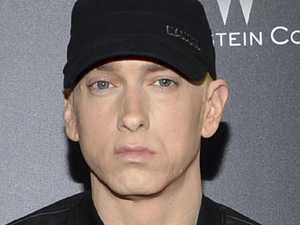Eminem under fire for 'gun shot' at music fest