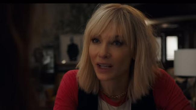 Cate Blanchett in Ocean's Eight.