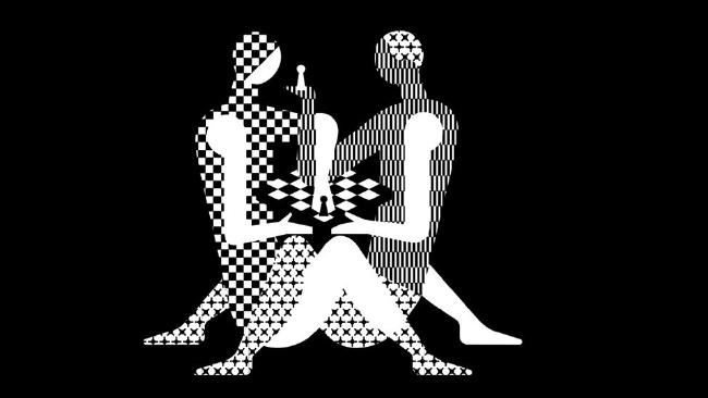 That's one steamy game of chess.