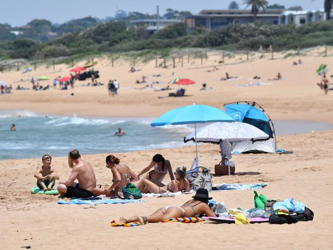 The temperature in Sydney is about to drop. Picture: Joel Carrett / AAP