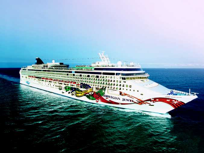 CRUISING: The Norwegian Cruise Line's  Norwegian Jewel.