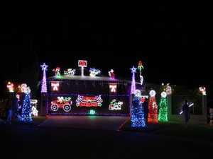 Walnut Ave Christmas lights