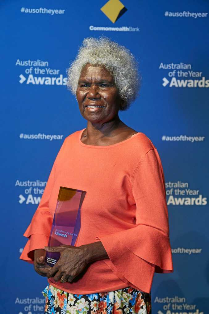 NOMINEE: Senior Australian of the Year 2018, Northern Territory nominee, Kathy Guthadjaka.