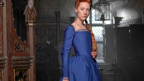 Saoirse Ronan stars as Mary Stuart in the movie Mary Queen of Scots.