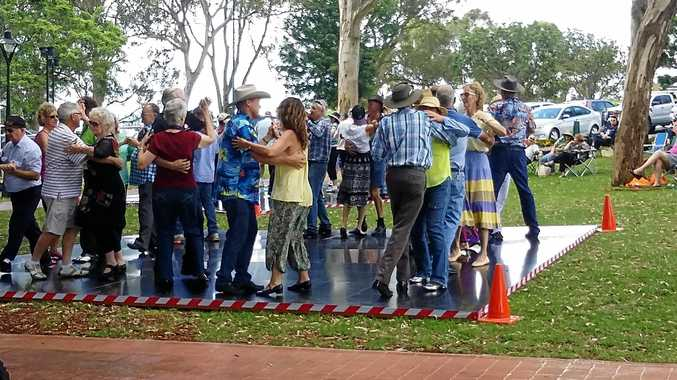 DANCING DAYS: Summer Tunes at Picnic Point has in the past had the energetic on their feet, while others relax in the shade and just enjoy the music.