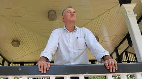 Gympie LNP candidate Tony Perrett is back for a second term.