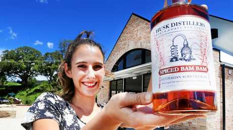 Husk Distillers are launching a new spiced Rum product. :Harriet Messenger