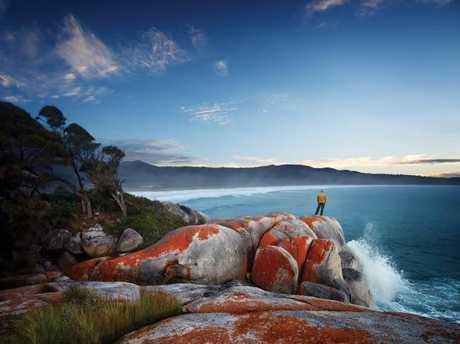 Bay of Fires, Tasmania. Picture: Stuart Crossett