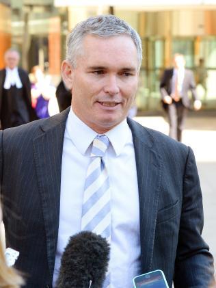 Former Labor MP Craig Thomson.