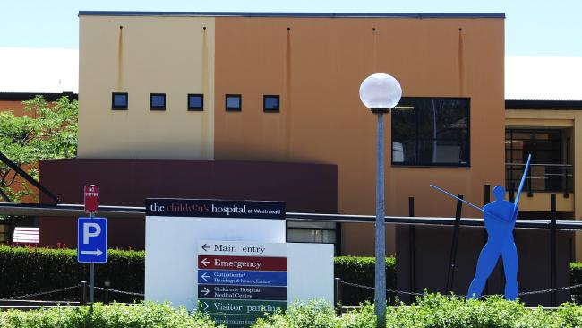 The incident took place at the Children's Hospital at Westmead