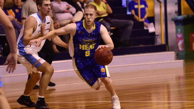 Newly re-signed Townsville Heat point guard Josh Wilcher. Picture: Wesley Monts