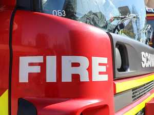 Suspicious car fire breaks out in Maryborough