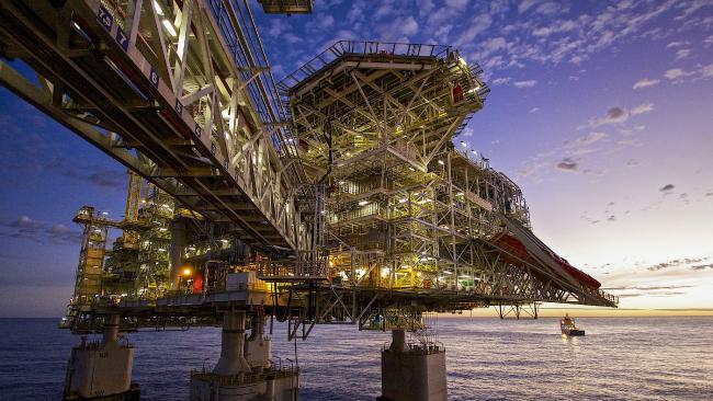 The Chevron Wheatstone platform in Western Australia