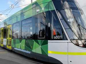 Man dies after trying to pass tram