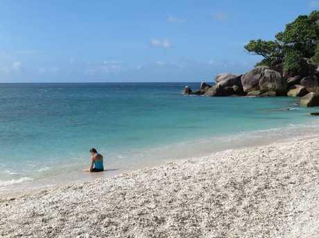 Nudey Beach on Fitzroy Island. Picture: Brendan Radke