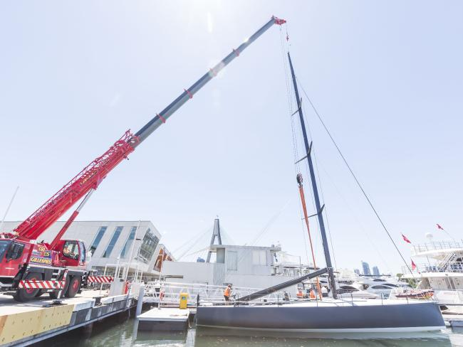 Getting the new Ichi Ban ship shape. Picture: AAP