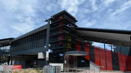 Footscray railway station.