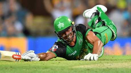 Marcus Stoinis just couldn't get over the line for that final run.