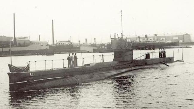 HMAS AE1 Submarine from WW1 has been found after 103 years.