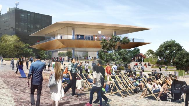 Apple plans to build a new flagship store in Melbourne's Federation Square by 2020.