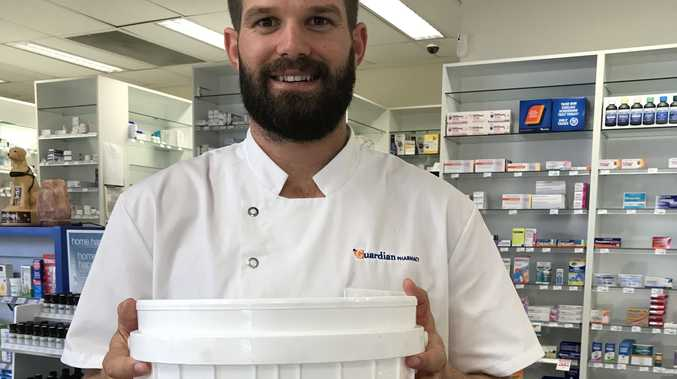 TOSS OUT: Guardian Pharmacy pharmacist James recommends dropping off your old medicines to your local pharmacy.