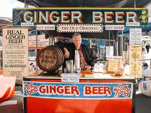 Cheers to drinking real ginger beer