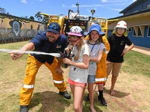 Rural firefighters inspire children