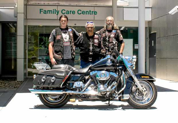 Chavez Johnson, Matthew Peni and Ray Johnson are hoping for broad community support for their fundraiser in support of the Paediatric Unit at CHHC