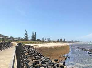 North Coast beach overrun by rotting seaweed