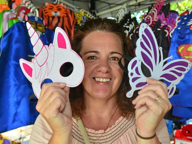 LAST CRUISE: Cruise ship market stall holder Cathy Ralston at her stall Isby Designs.