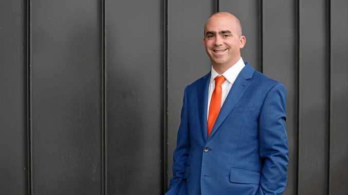 AWARD WINNER: Regional Salesperson of the Year Damian Raxach.