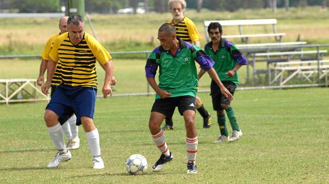 LIGHTING UP THE PITCH: Supa Oldies Soccer is set to benefit from a major light upgrade at the Rushforth Park Sports Complex.