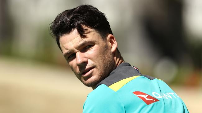 Peter Handscomb has brushed off suggestions he needs to work on his technique.