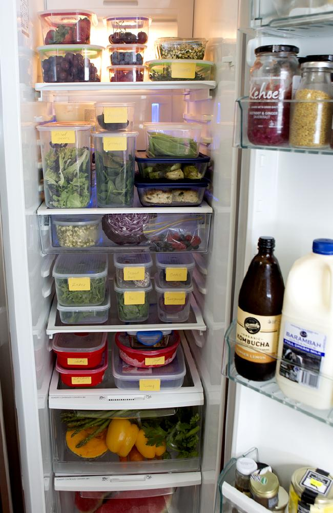 Lorna Jane Clarkson opened up her fridge in 2015, and viewers were shocked by her organisation.