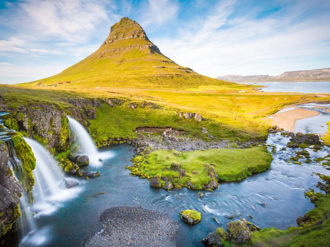 Kirkjufell Mountain featured in Game of Thrones. Picture: Supplied/ BlackTomato