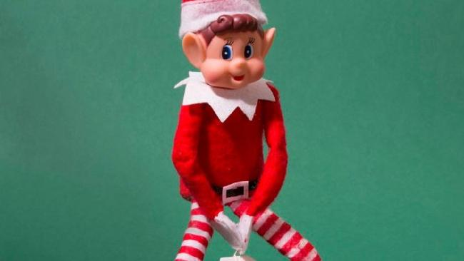 Naughty Elf is shocking shoppers. Picture: Twitter.